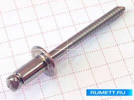 Заклёпка вытяжная 5x8 нержавеющая сталь