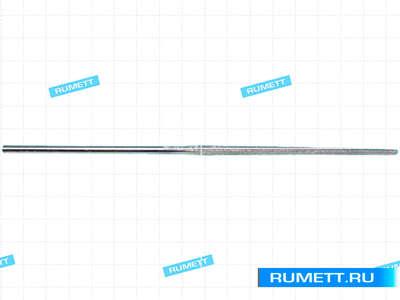 Надфиль Алмазный круглый L160х4 с обрезиненной ручкой