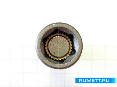 Магнитная насадка под шестигранник 8 мм с фиксатором
