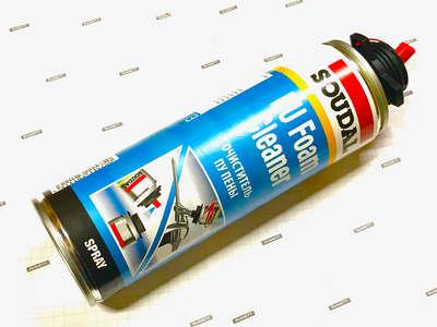 Очиститель полиуретановой монтажной пены 12х500мл Gun & Foam Cleaner (122716) SOUDAL