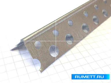 Профиль ПУ 20х20 толщина 0,35 мм (Перфорированный уголок)