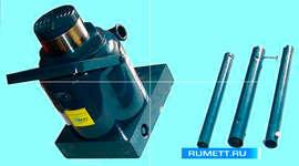 Домкрат гидравлический грузоподъёмность 50,0 тонн (высота подъёма 236-356мм) (T95007) марки CNIC (фасовка 1 шт)