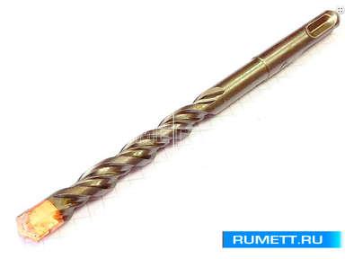 Бур d 3х 25х 80 тв. сплав SDS-PLUS, усиленная спираль  a.0021