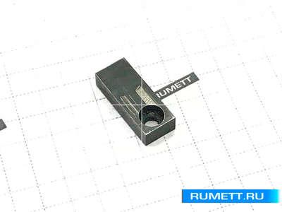 Шпонка прямоугольная 20х 8х 4,5 под паз 8мм привертная (7031-0790) ГОСТ 14501-69