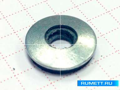 Саморез для стального профиля 5,5х19 сверло №3 (6мм) и EPDM шайба Тайвань