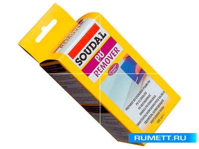 Препарат для удаления затвердевшей монтажной пены PU Remover 6х100мл (116544) SOUDAL