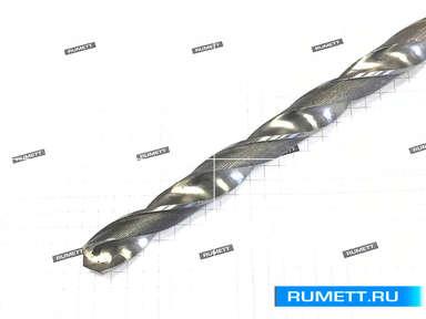 Сверло 6,9 х 130 х 200 Р9К5 к/хв удлиненное КМ1