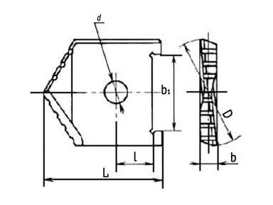 Сверло перовое по металлу 28,0 Р6М5 2000-1207