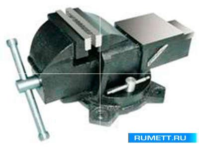 """Тиски Слесарные 150 мм (6"""") стальные поворотные массивные с наковальней (LT83006)"""
