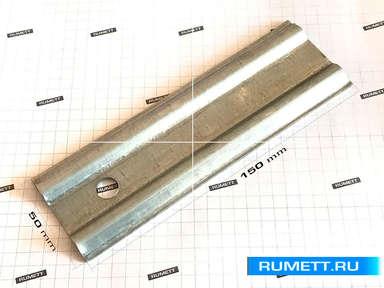 Удлинитель фасадного кроштейна 150х50х2 мм