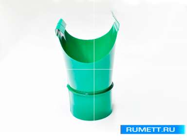 Воронка желоба диаметр 100 мм