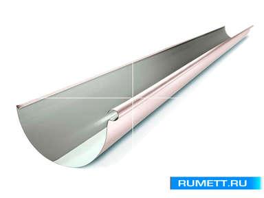 Желоб водосточный 1250 мм диаметр 110 мм