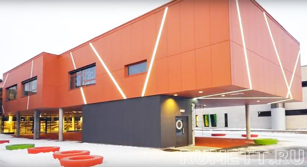 Вентилируемый фасад облицованные фиброцементными панелями