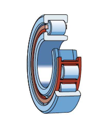 Роликоподшипники радиальные однорядные (РПР) тип 42000