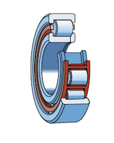 Роликоподшипники радиальные однорядные (РПР) тип 92000