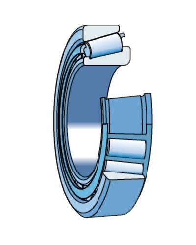 Роликоподшипники конические однорядные (РПКО) типа 7000 и типа 27000