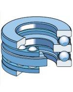 Упорные шарикоподшипники двойные (УШРД) тип 38000