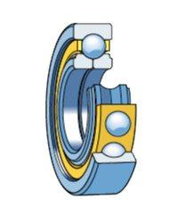 Шарикоподшипники радиально-упорные быстроходные (ШРУБ) Тип 176000, 126000 Тип 116000