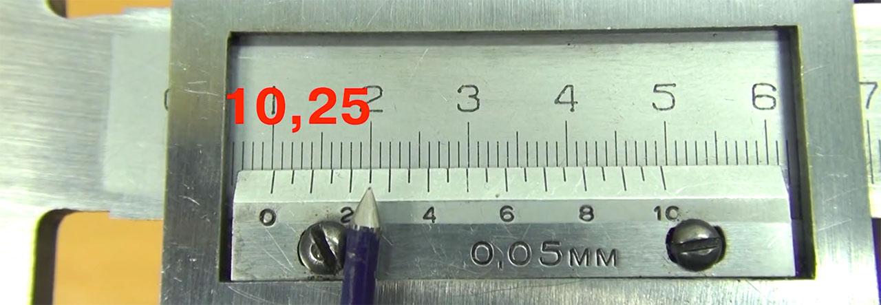 Измерения и применение штангенциркуля ШЦ-I