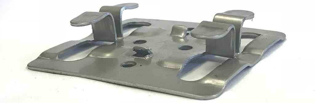 Рядовой кляммер AISI 304 с дистанциром