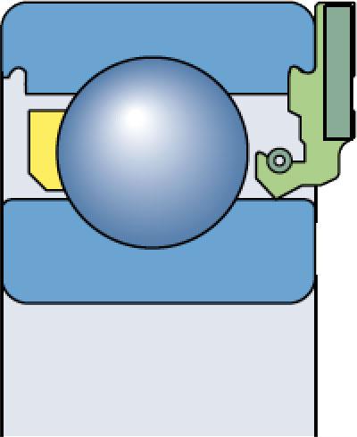 Подшипниковые узлы с манжетным уплотнением