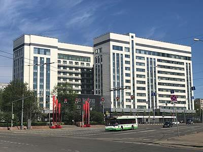 Вентилируемый фасад прокуратуры Москвы