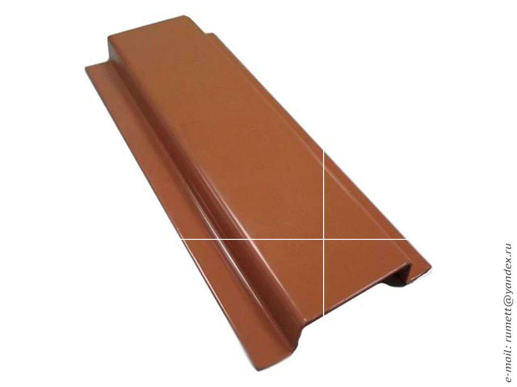 Покраска профиля для вентилируемого фасада RAL